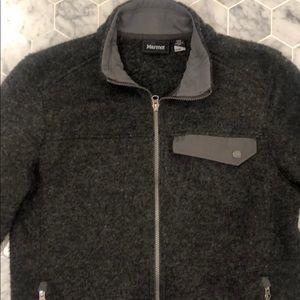 Marmot wool zip up jacket